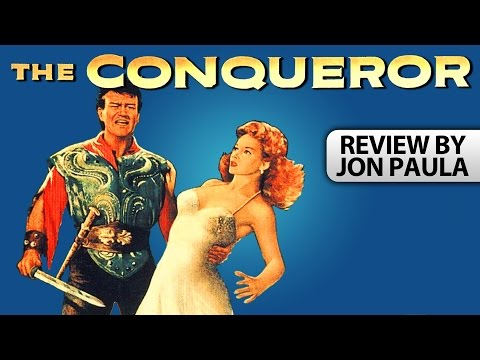 The Conqueror (John Wayne) -- Movie Review #JPMN