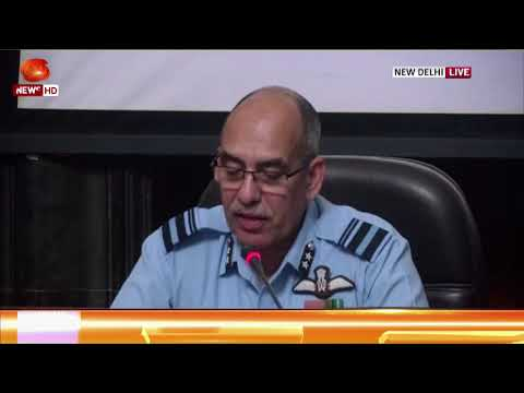 Indian Air Force addresses Media