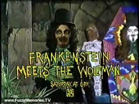 "Son Of Svengoolie - ""Frankenstein Meets The Wolfman"" (Promo, 1980)"