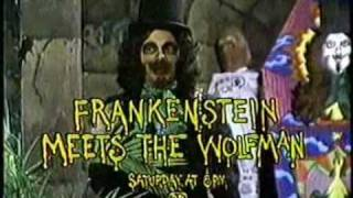 "Son Of Svengoolie - ""Frankenstein Meets The Wolfman"" (Promo, 1980)"