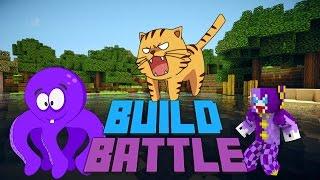 MINECRAFT | Rey Hentai & Tigre | BUILD BATTLE Minigame