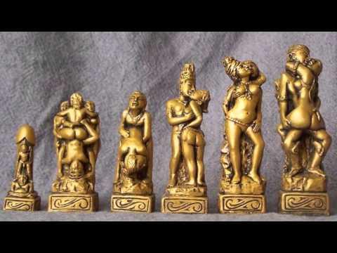 Kama Sutra Erotic Chess Set