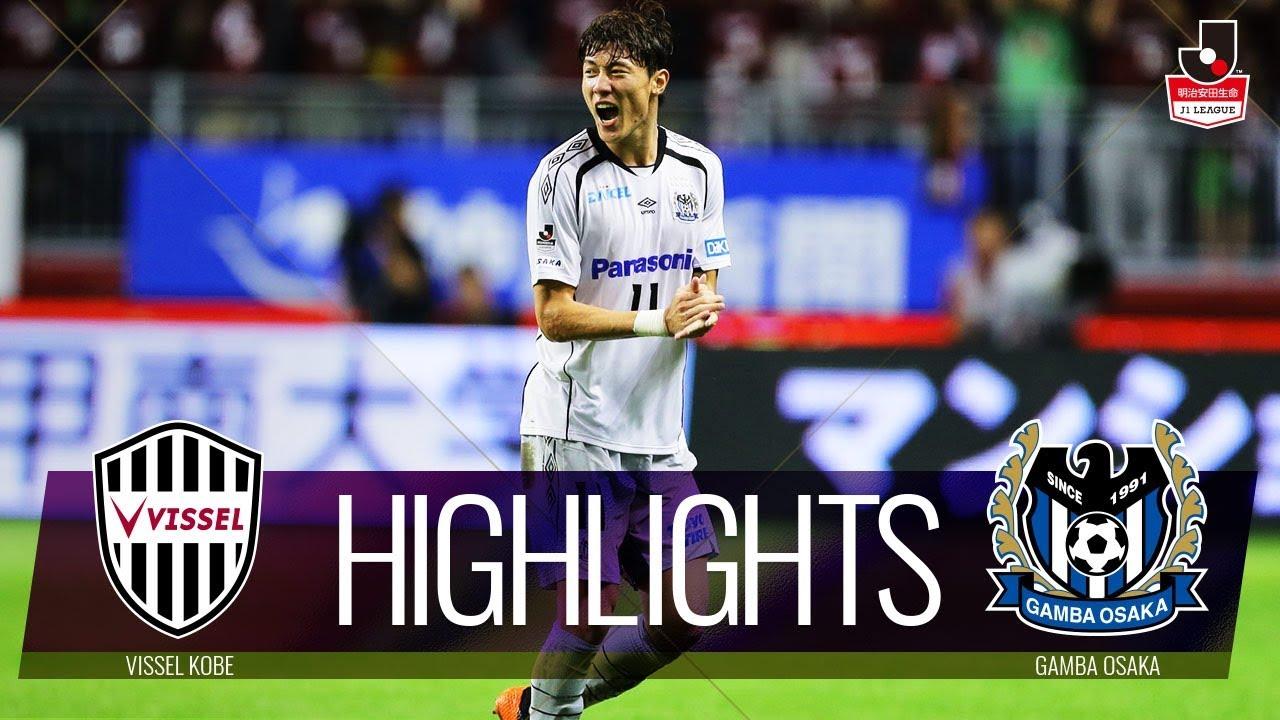 J1 Stats Vissel Kobe Vs Gamba Osaka Match 21 Cooljapan Soccer
