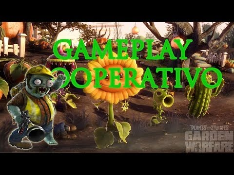 Plantas VS Zombis: Garden Warfare Gameplay # 1 CO-OP Alissea y Barbilla - XBOXONE