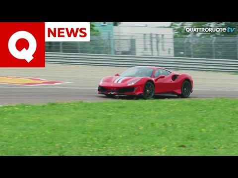 Ferrari 488 Pista, primo test a Fiorano! | Quattroruote