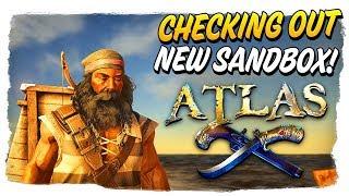 Level 9 - Checking out ATLAS, New Pirate OPEN WORLD SANDBOX - Atlas LIVE🔴