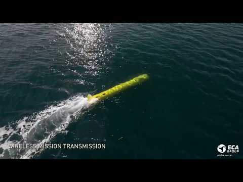 ECA Group AUV A18D Commercial and Scientific Applications
