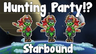 Floran Hunting Party Mission - Starbound Nightly Build