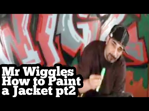 how to graffiti jacket pt 2 TRAINWRITERS.COM