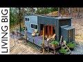 Spacious DIY Off-The-Grid Tiny House