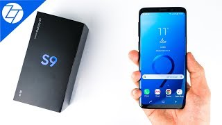 Samsung Galaxy S9 - Unboxing & Initial Review!