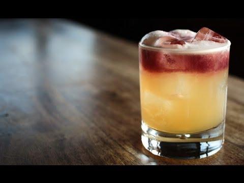 How To Make A New York Sour Liquor Com Youtube