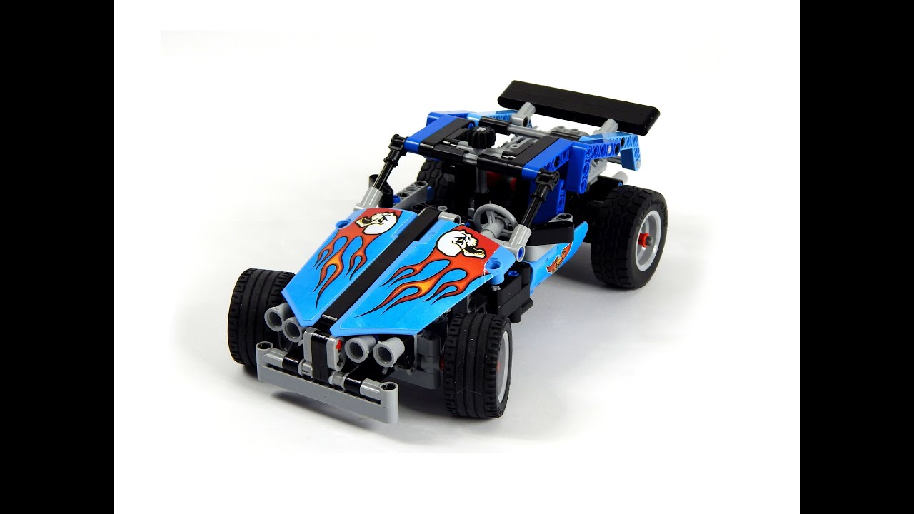 lego technic 42022 hot rod model b sports car speed build. Black Bedroom Furniture Sets. Home Design Ideas