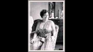 """Soprano CLAUDIA MUZIO - Adriana Lecouvreur  """"Poveri fiori""""  (1935)"""
