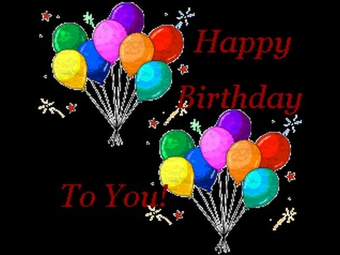 Happy Birthday - Original english version  ♪♫