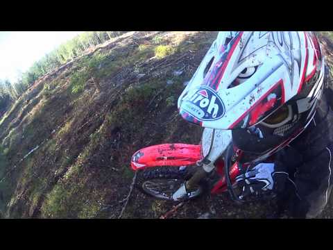 Enduro riding in Finland 2017