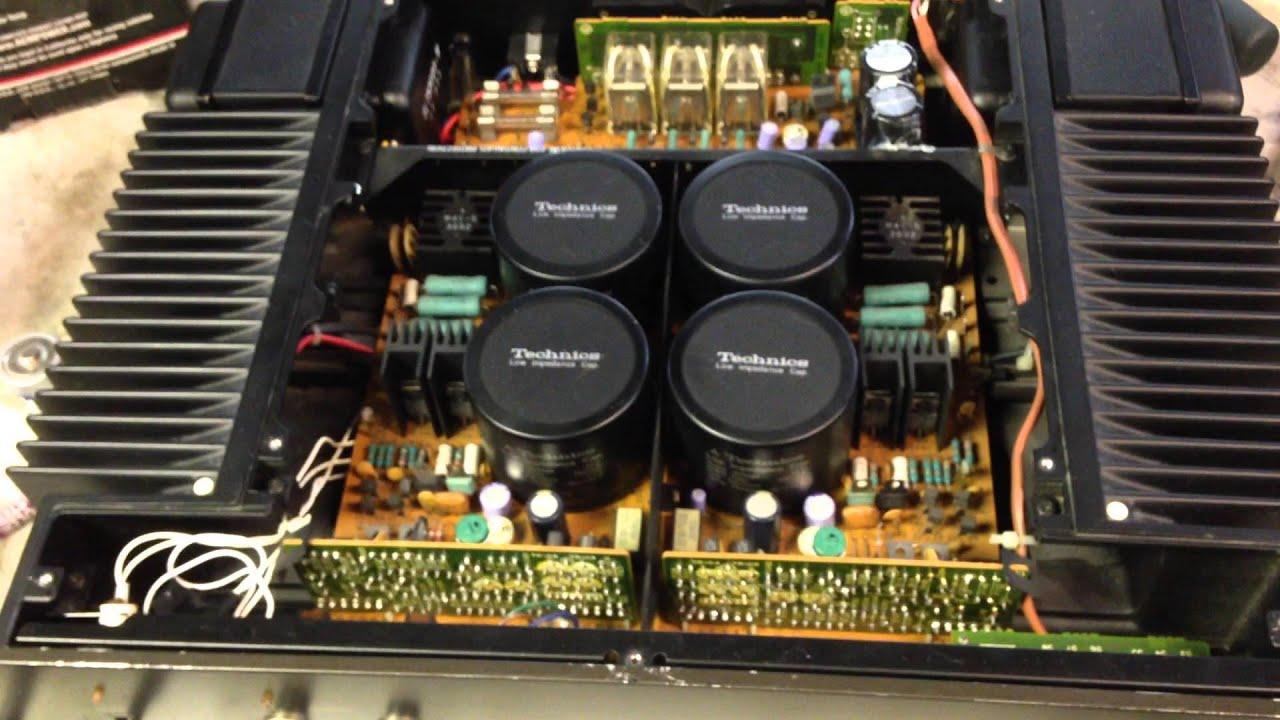 technics se 9060 amplifier repair youtube. Black Bedroom Furniture Sets. Home Design Ideas