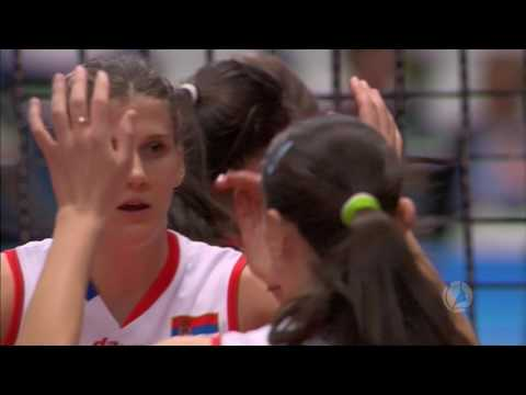 Serbia - Thailand Highlights (Montreux Volley Masters 01.06.16)