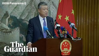 China cables: 'Don't listen to fake news' about Xinjiang camps, says Chinese ambassador
