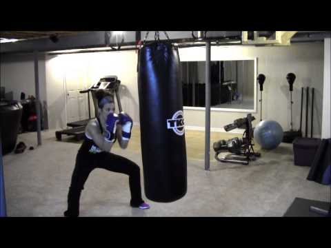 in-home-boxing-workout,-heavy-bag-drills-for-weight-loss