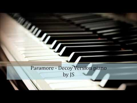 Paramore  Decoy piano