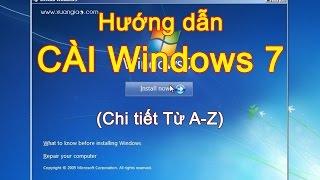 Hướng dẫn cài windows 7