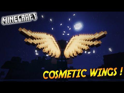 скачать мод на cosmetic wings для майнкрафт 1.7.10