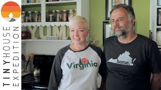 Couple Exits Rat Race By Living Tiny: From Tiny House To Small House And Bus Conversion