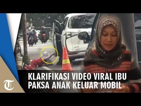 Video Klarifikasi Ibu Yang Dorong Anak Dari Mobil Hingga Jatuh, 'Tak Ada Niat Sakiti Putri Saya'