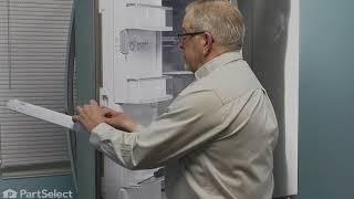 LG Refrigerator Repair – How to Replace the Door Mullion (LG # AGU73530705)