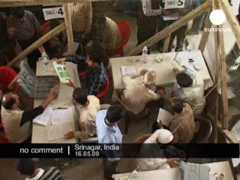 Elections day in India