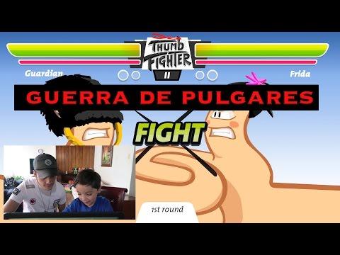 GUERRA DE PULGARES I Mi Hermano me hace llorar l Santiago Games