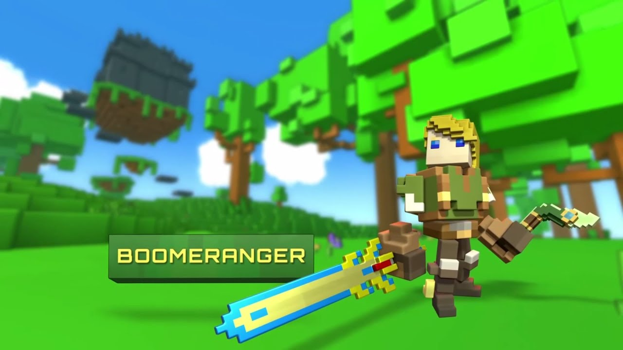 Trove Boomeranger Class Preview W Neon Dragon Cache Opening