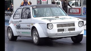 NEW Quickest VW Golf In The UK - 846bhp 1.8T Mk1 With 4WD