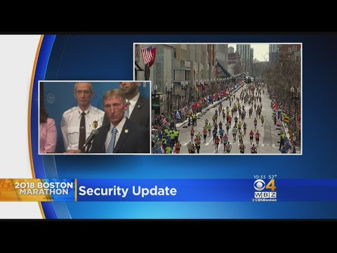 No Drones, Lots Of Checkpoints Planned For Boston Marathon