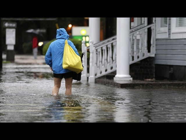 Hurricane Joaquin, Other Storm Systems Cause Flooding in South Carolina