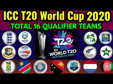 T20 World Cup 2020 Direct Qualifiers Teams Schedule Venue List Of Final 16 Teams In T20 Wc 2020 Youtube