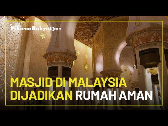 Masjid-masjid di Malaysia akan Dijadikan Rumah Aman bagi Korban KDRT, Tawarkan Penginapan