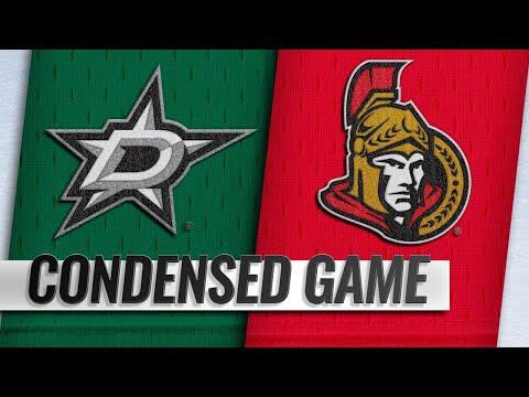 10/15/18 Condensed Game: Stars @ Senators