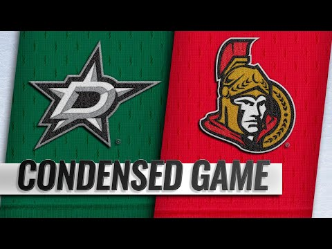 10/15/18 Condensed Game: Stars @ Senators
