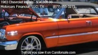 1963 Chevrolet Impala Super Sport for sale in Headquarters i