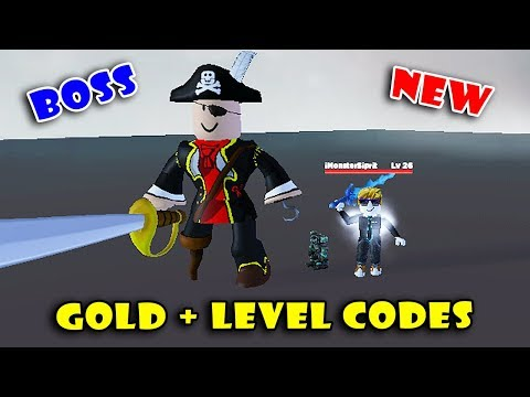 New GOLD + LEVEL Codes & Defeating BOSS In NEW Game RPG Simulator! [Roblox]