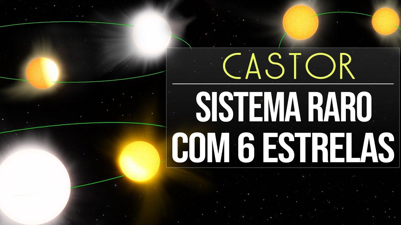 Download Castor - Sistema Raro Com 6 Estrelas