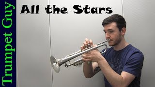 Kendrick Lamar - All the Stars (Trumpet Cover) ft. SZA