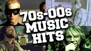 Top 50 Music Hits from 1970 to 2000