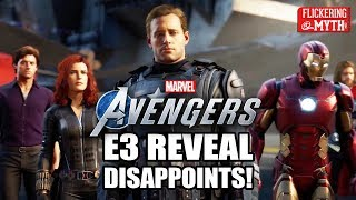 MARVEL'S AVENGERS E3 Reveal Disappoints | Flickering Myth Podcast Mini