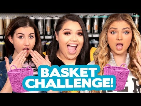 DIY BASKET DECOR CHALLENGE?! w/ Karina Garcia, Meg DeAngelis & Carrington Durham!