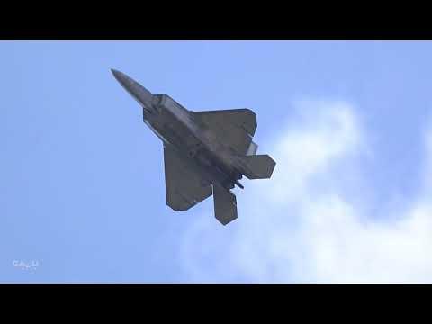 2018 Air Power Over Hampton Roads: F-22 Raptor Demonstration (Sunday)
