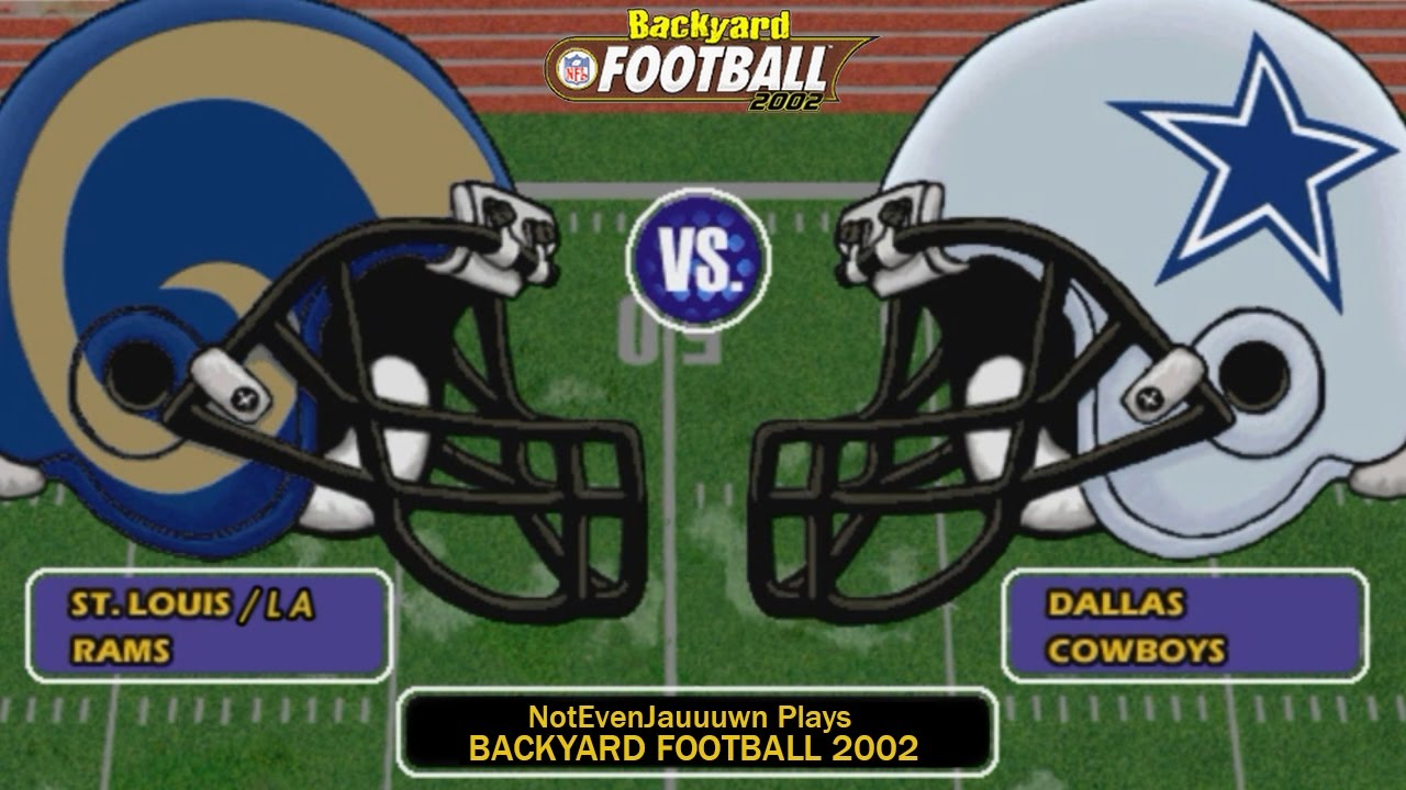 game 10 of season 2 on backyard football 2002 dallas cowboys vs