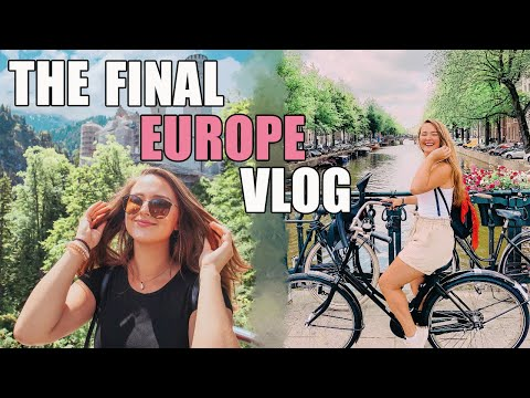 THE FINAL EUROPE TRAVEL VLOG | Munich, Berlin, Vienna, Prague, Budapest, And Amsterdam | 2019